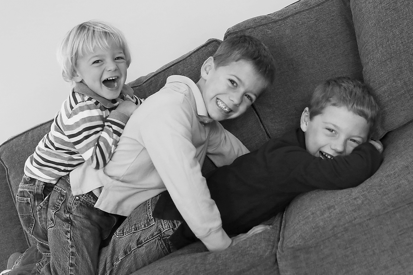 Cameron, Thomas & Griffin, almost 6 yr old twins & 3 yrs