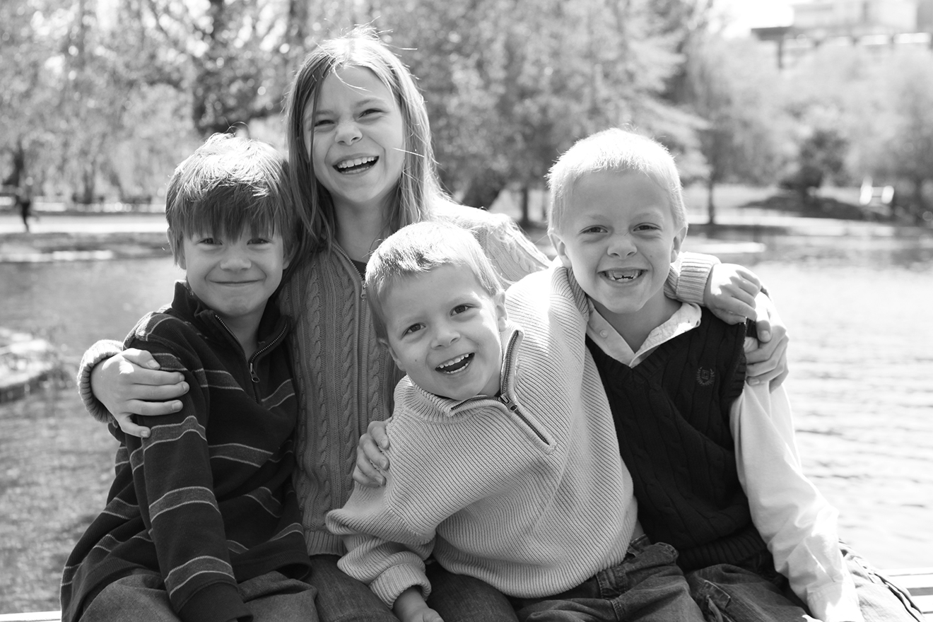 Breann, Nolan, Mason & Benjamin, 9, 7, 5 and 4 years old