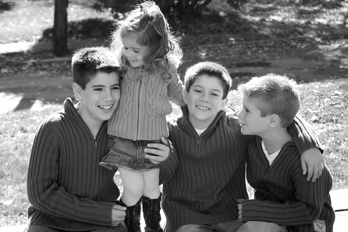Jeffrey, Jared, Jack & Julia, 12, almost 10, 7 & 2 yrs old