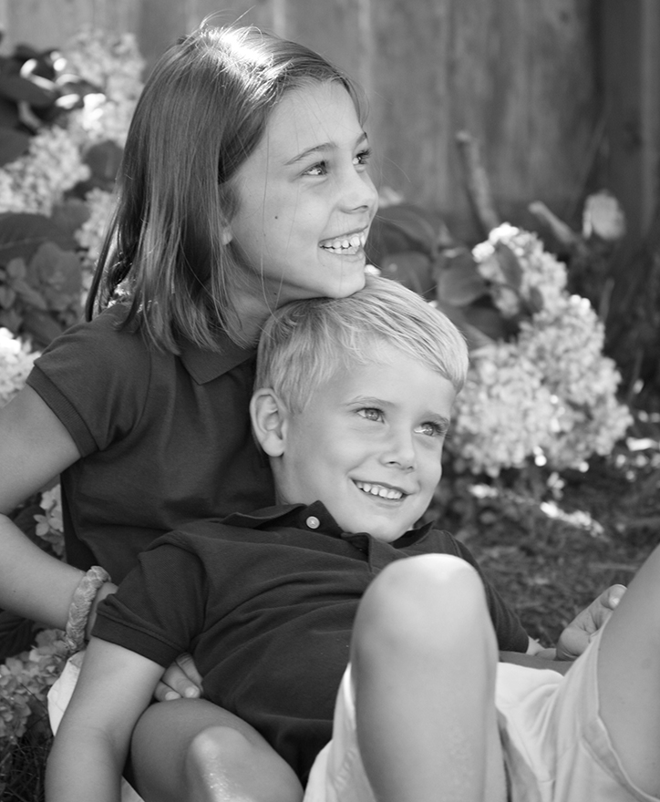 Katherine and Jack, 7 and 4 years old