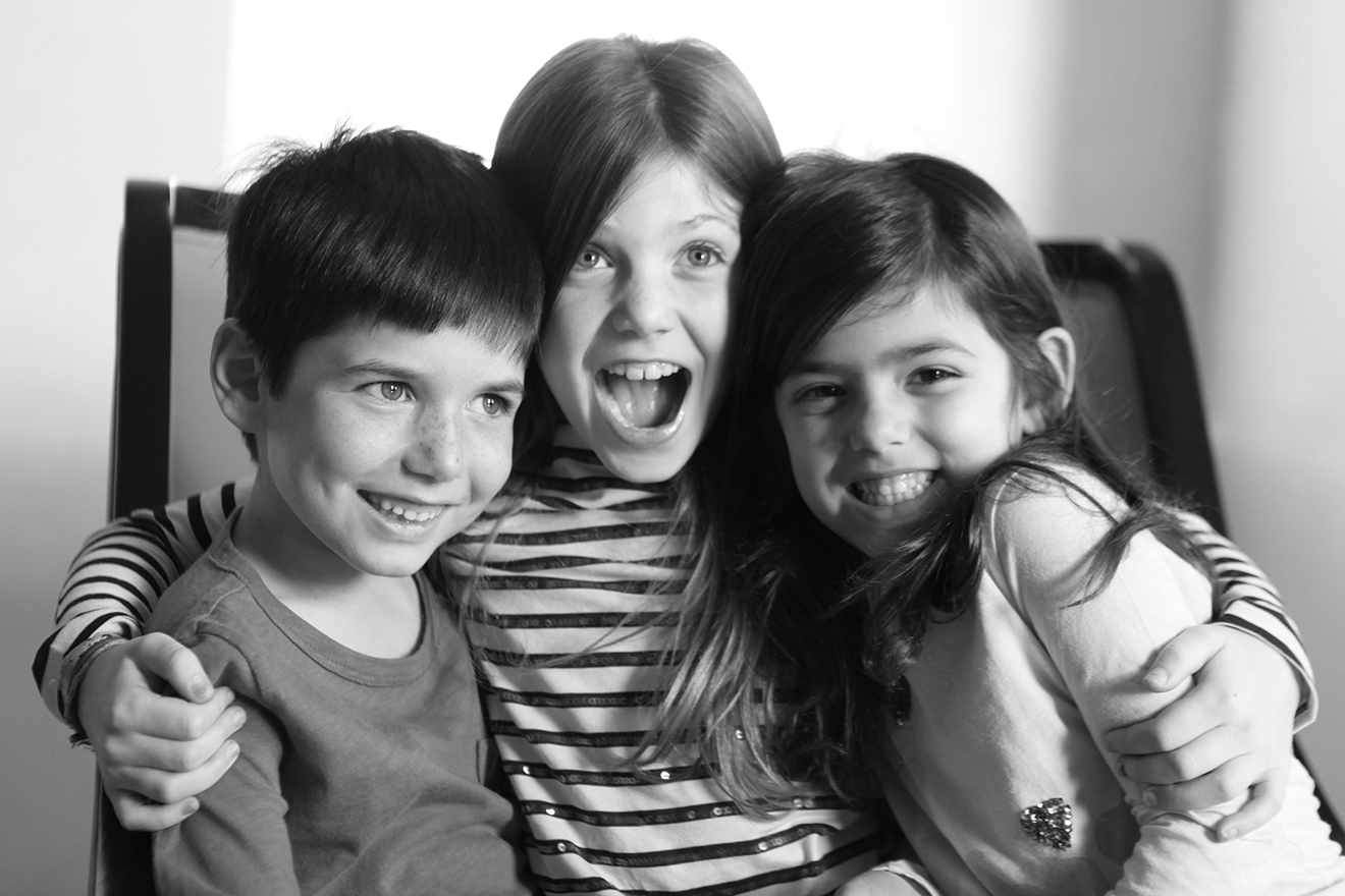 Lily, Ethan and Danielle, 8, 7 and 5 1/2 years old