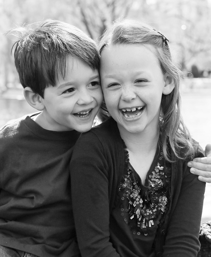 Taya and Timmy, 7 and 4 years old