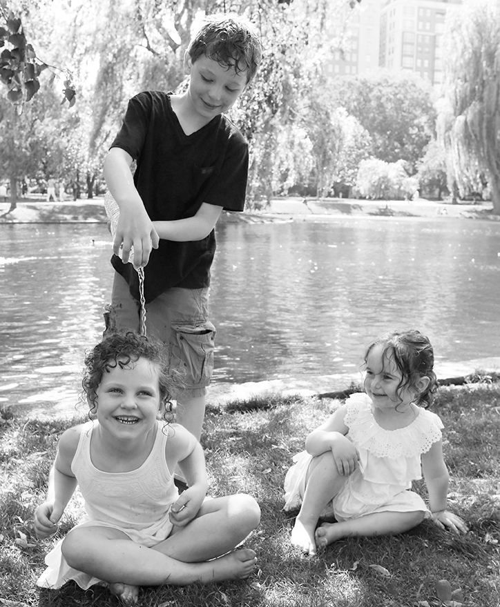 Gavin, Quinn and Summer, 8, 6 and nearly 3 years old